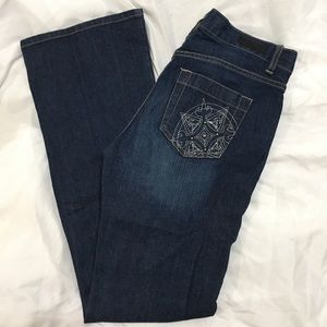 Calvin Klein Lowrise Flare Jeans